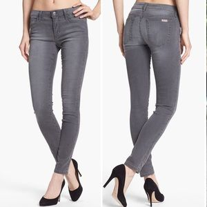 Joe's Jeans Gray Skinny Ankle Mid-Rise Size 31